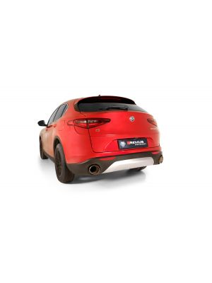 Axle-back system for Alfa Romeo Stelvio Q4 (selectable tail pipes), incl. EC homologation