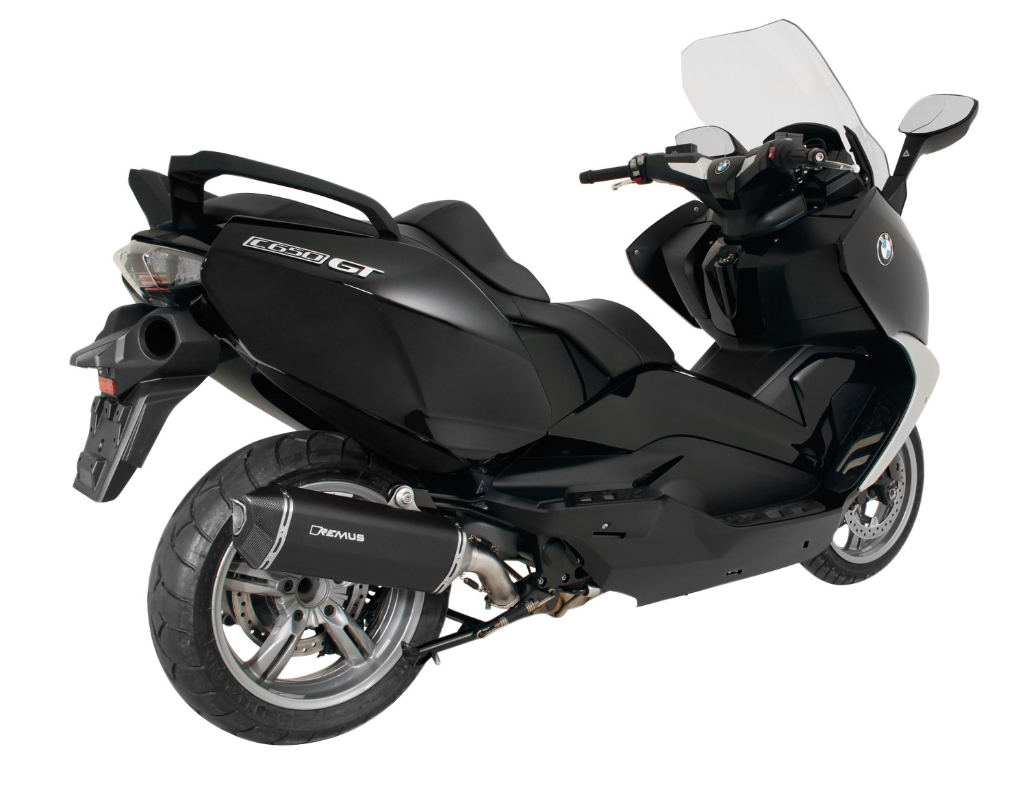 remus news bike info 01 16 bmw c650 sport and c650 gt. Black Bedroom Furniture Sets. Home Design Ideas