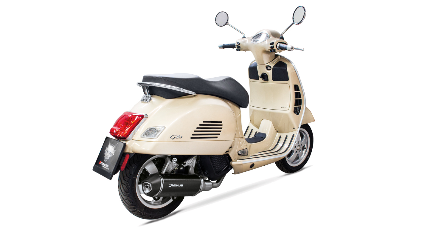 remus news bike info 08 17 piaggio vespa gts 125 mod 17 euro 4. Black Bedroom Furniture Sets. Home Design Ideas