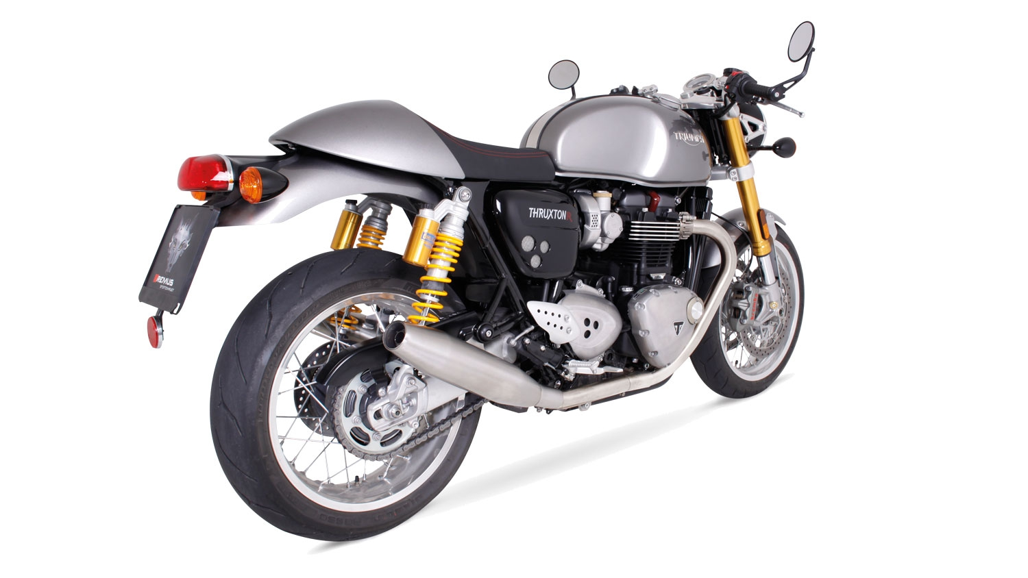 remus news bike info 16 16 triumph thruxton 1200 r. Black Bedroom Furniture Sets. Home Design Ideas