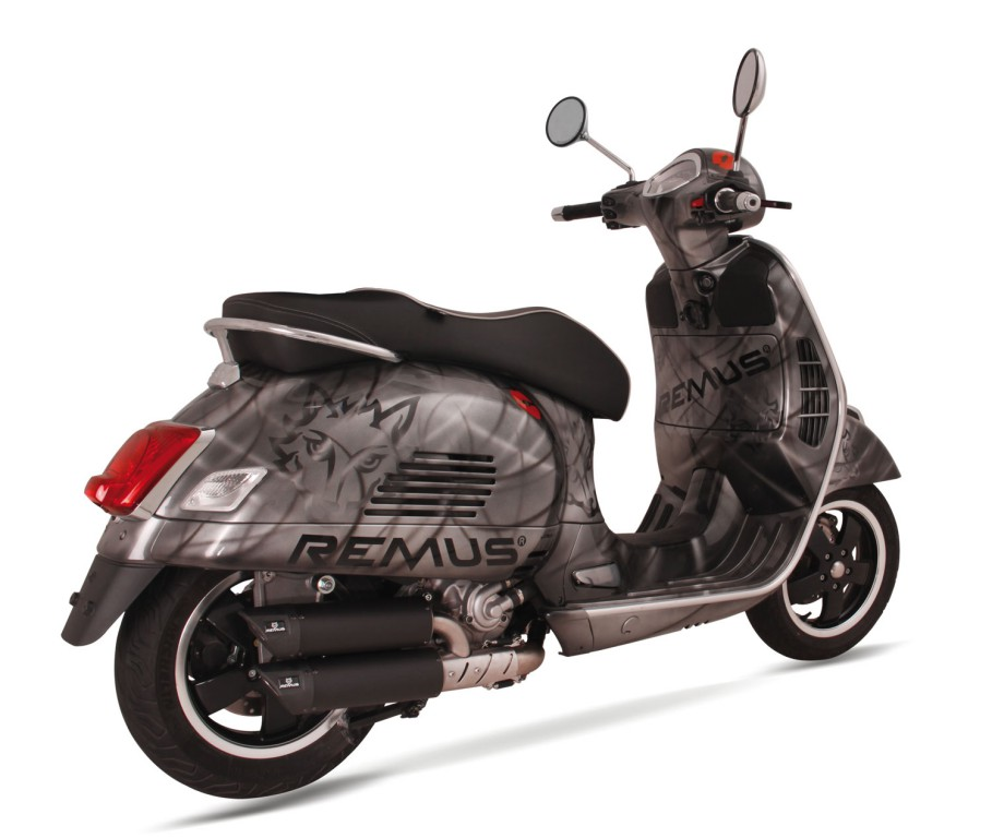 remus news bike info 32 15 rsc dual flow for piaggio. Black Bedroom Furniture Sets. Home Design Ideas