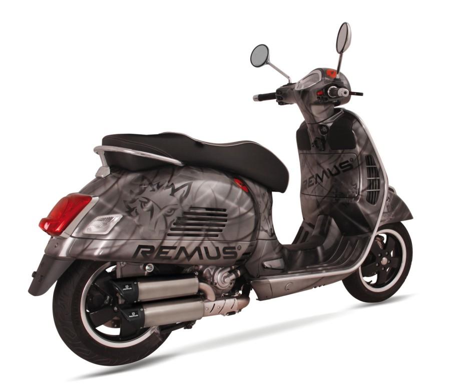 remus news bike info 32 15 rsc dual flow for piaggio. Black Bedroom Furniture Sets. Home Design Ideas