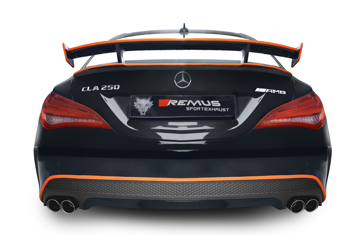 REMUS product information 17-2016 MERCEDES BENZ CLA 250 ...