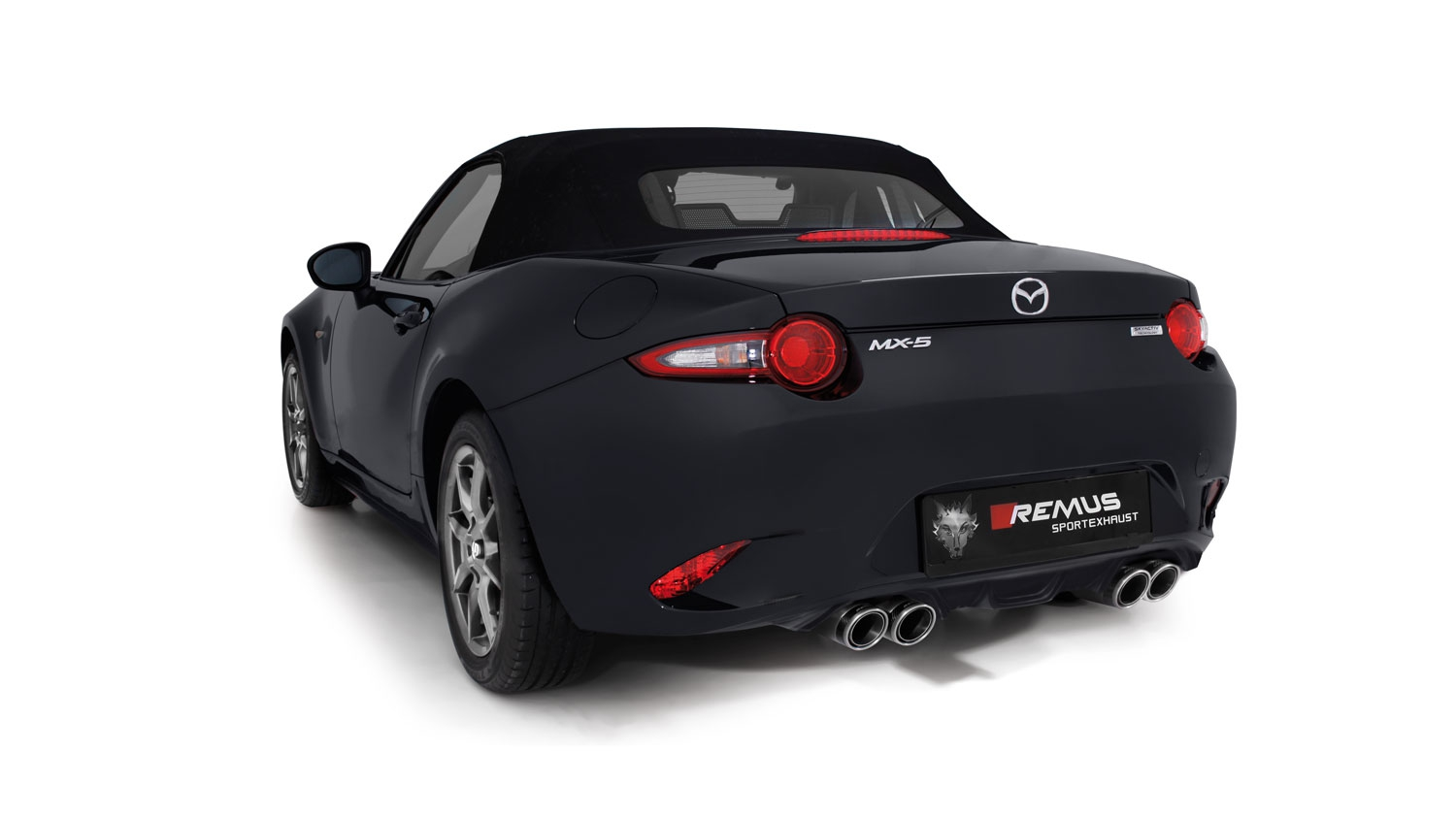 remus news remus product information 26 2016 mazda mx 5. Black Bedroom Furniture Sets. Home Design Ideas